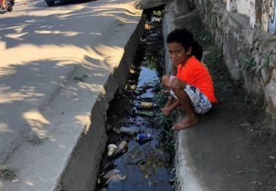 Boy on streets in Dili, Timor-Leste